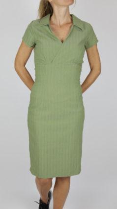ICH-JANE-jurk-Windsor-groen
