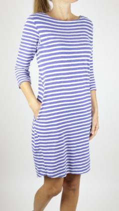 Mudd-&-Water-jurk-Freya-navy-stripe