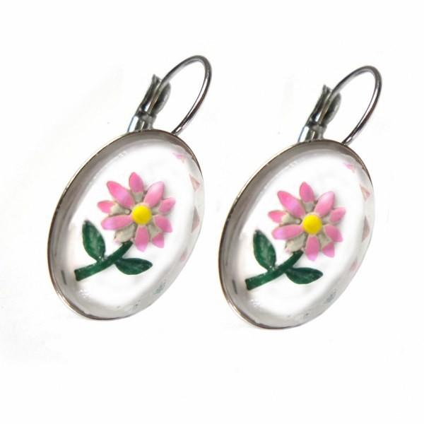 urban-hippies-oorbellen-bloem-vintage-roze