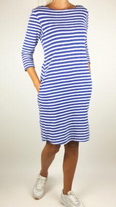 mudd-&-water-jurk-freya-azure-stripe