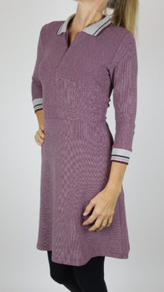 WHO´S-THAT-GIRL-jurk-Line-aubergine