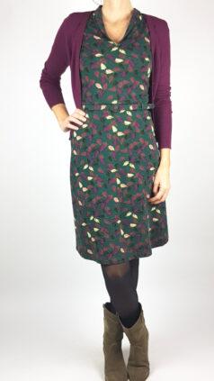 wow-to-go-jurk-cold-groen-whos-that-girl-vest-elisa-aubergine