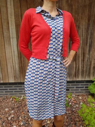 4funkyflavours-jurk-Afterhours-ZILCH-kort-bamboe-vestje-rood