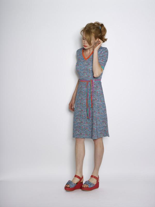 Favoriete WOW TO GO jurk - kleurrijke modellen bij Kekke Jurkjes ZE48