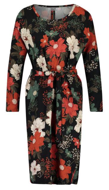 IEZ!-jurk-Tunic-satin-print-voorkant