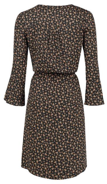 LE-PEP-jurk-Fenne-zwart-achterkant