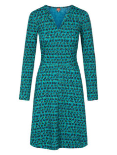 Blauw-met-groene-WHO'S-THAT-GIRL-jurk-RESTO-voorkant