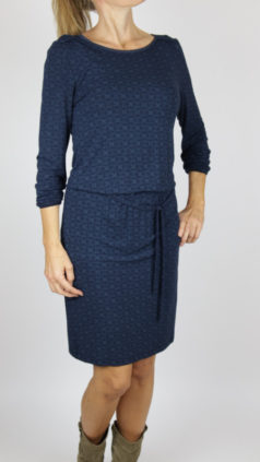 LE-PEP-jurk-Flair-navy