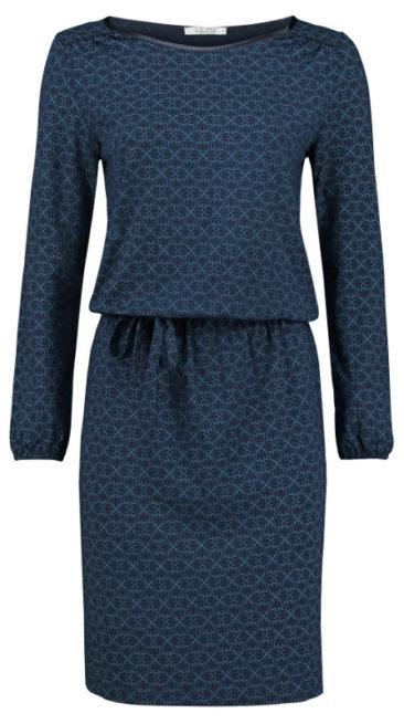LE-PEP-jurk-Flair-navy-voorkant