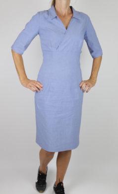 ICH-JANE-jurk-Windsor-lavendelblauw
