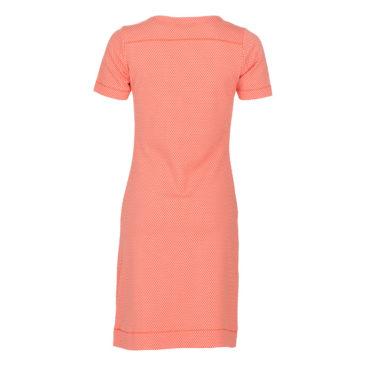 LE-PEP-jurk-Ava-coral-achterkant