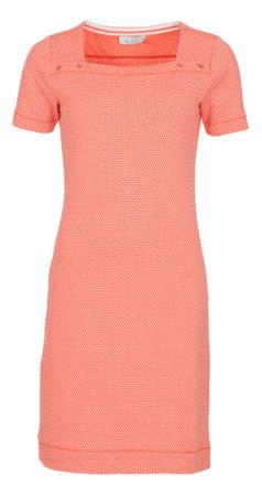 koraalrood-LE-PEP-jurk-Ava-coral-voorkant