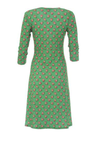 Lalamour-jurk-Wrap-rose-green-achterkant