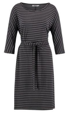 IEZ-jurk-Streep-grijs-wit-streep-voorkant