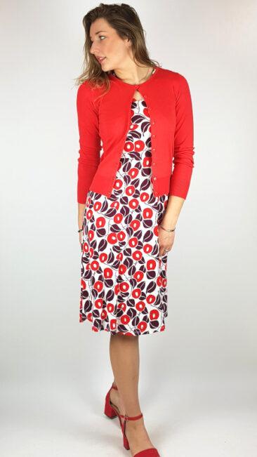 zilch-bamboe-vestje-ronde-hals-rood