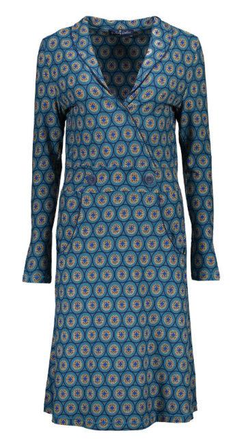 Bakery-Ladies-jurk-Sandy-blauw-voorkant