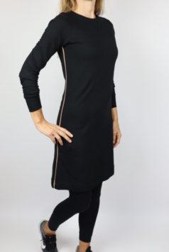 IEZ-jurk-Sporty-zwart-met legging