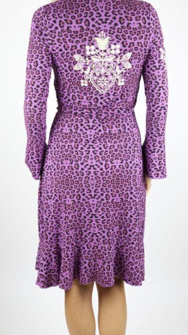 Tante-Betsy-jurk-Wrap-leopard-paars-achterkant
