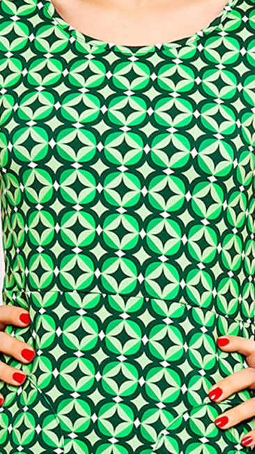 Cissi-och-Selma-jurk-Asta-Abstract-green-print