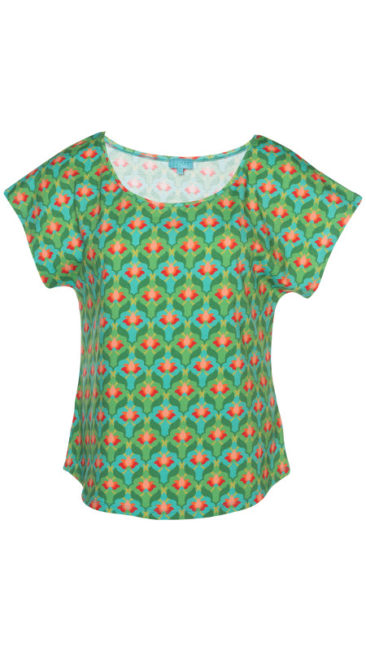 Lalamour-Loose-shirt-Lotus-groen