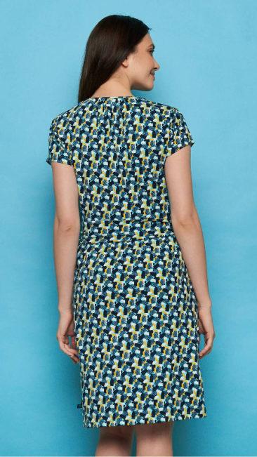 TRANQUILLO-jurk-Leonore-blauw