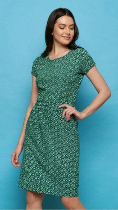 TRANQUILLO-jurk-Loretta-groen