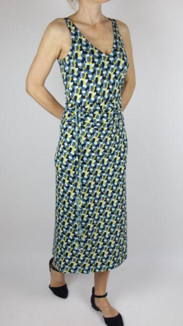 TRANQUILLO-rok-Stefanie-jurk-Mayla-top-Merga-blauw