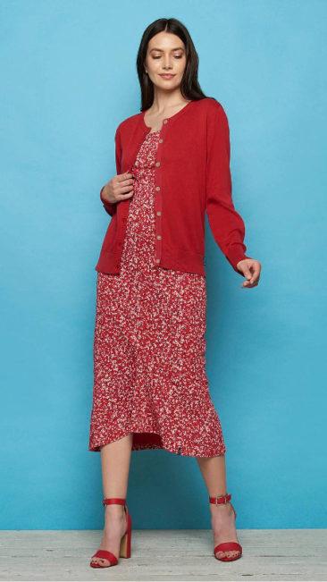 TRANQUILLO-vest-Asha-rood-jurk-Naisula