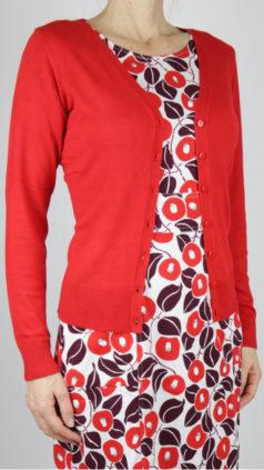 ZILCH-kort-bamboe-vestje-rood-jurk-Pockets-japan-lipstick