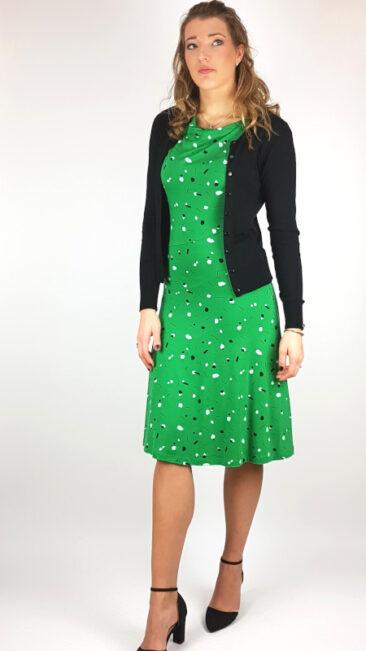 froy-dind-jurk-hazel-sprinkles-bamboe-vestje-ronde-hals-zwart