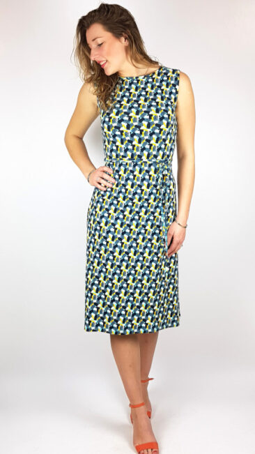 tranquillo-jurk-eva-blauw