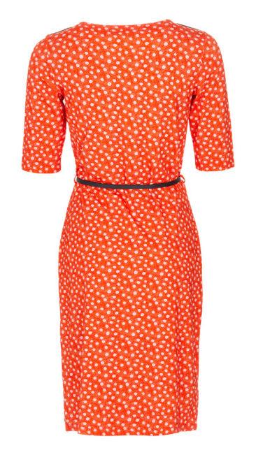 LE-PEP-jurk-Carla-oranje-achterkant