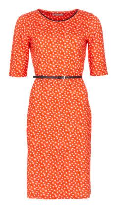 LE-PEP-jurk-Carla-oranje