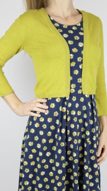 Seasalt-jurk-Primrose-vest-Vanessa-okergeel