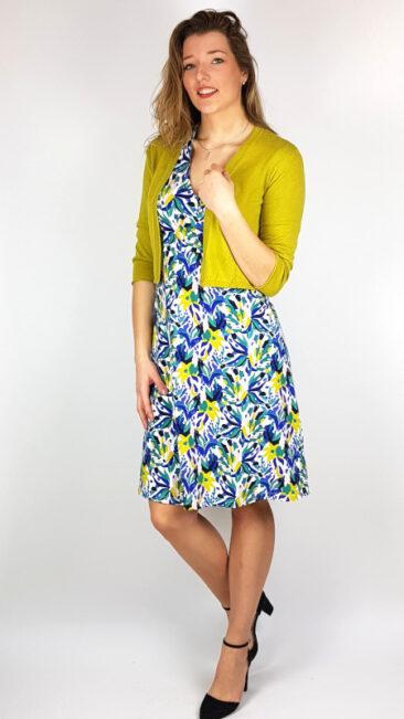 zilch-jurk-cross-bouquet-lime-seasalt-vest-vanessa-okergeel