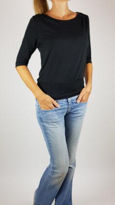Froy-&-Dind-shirt-Valerie-zwart-voorkant