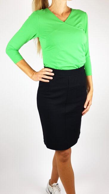 iez-rok-zwart-lalamour-shirt-wrap-groen