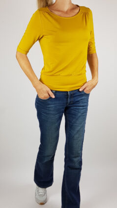 froy-&-Dind-shirt-valerie-okergeel-voorkant