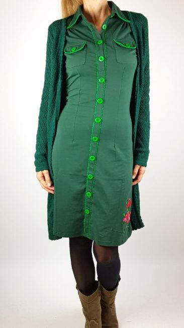 tante-betsy-jurk-betsy-green-lang-vest-lolly-groen