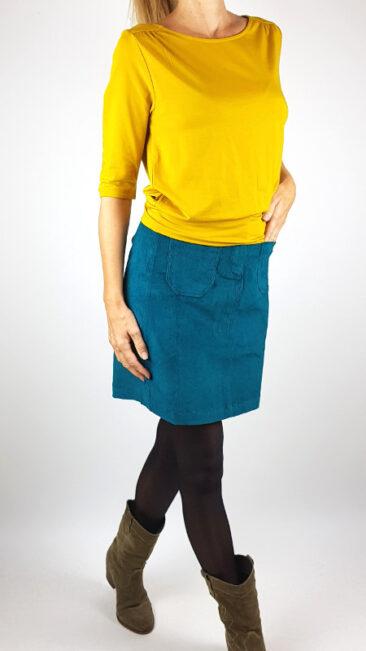 tranquillo-rok-ylvi-pine-froy-&-dind-shirt-valerie-okergeel