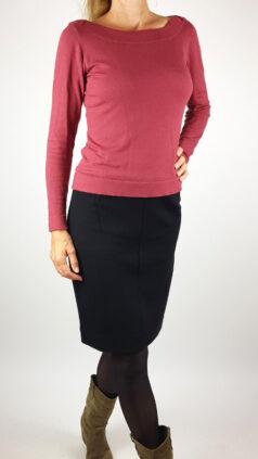 zilch-shirt-batsleeve-raspberry-iez-rok-basic-zwart