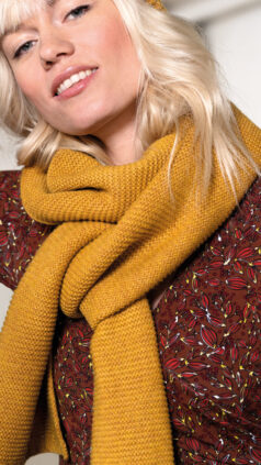 zilch-wollen-sjaal-geel