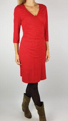 vintage-sale-king-louie-jurk-polka-rood-m
