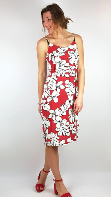 zilch-jurk-straps-hawaii-blossom