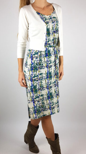 zilch-jurk-straps-checker-kort-bamboe-vestje-offwhite