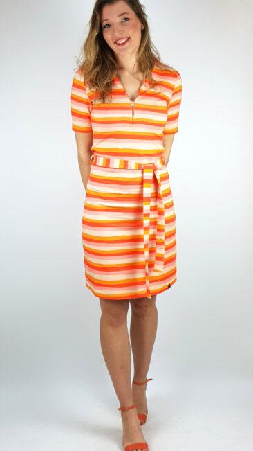 mooi-vrolijk-jurk-colourfull-stripes