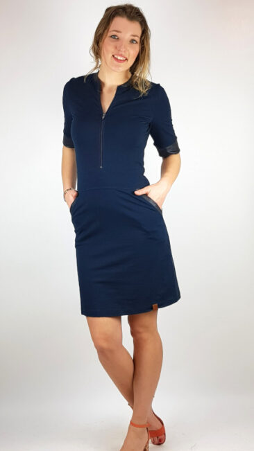 mooi-vrolijk-jurk-zipper-basic-dark-blue