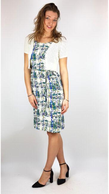 zilch-jurk-straps-checker-lykka-du-nord-vest-mireille-ivory