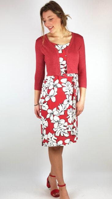 zilch-jurk-straps-hawaii-blossom-kort-bamboe-vestje-blossom