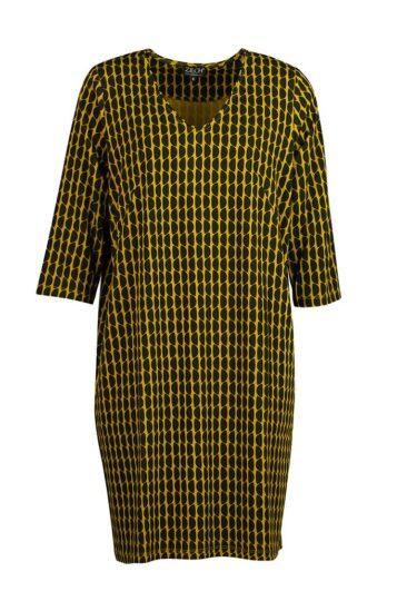 vintage-sale-jurk-moon-mustard